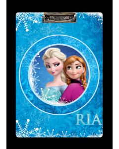 frozen personalised clipboard