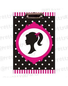 Personalised Barbie Clipboards