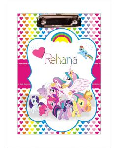 Personalised My Little Pony Clipboards