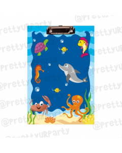 Personalised Under The Sea Clipboards