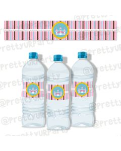 Fairy  Princess  Water Bottle Labels