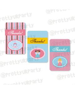 Fairy  Princess Thankyou Cards