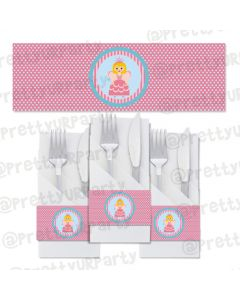 Fairy  Princess Napkin Rings