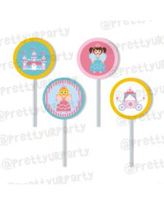 Fairy  Princess Cupcake / Food Toppers