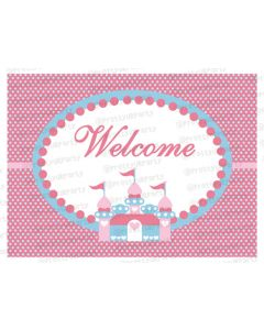 Fairy  Princess Entrance Banner / Door Sign