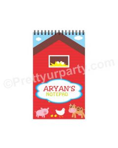 Farm Friends Note Pads