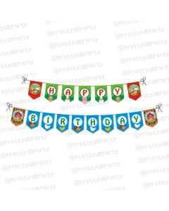 farm friends theme bunting