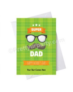 Father's Day Super Dad Card