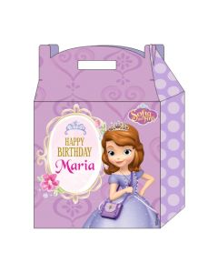 Sofia the first Enchanted Garden Party Favor Box