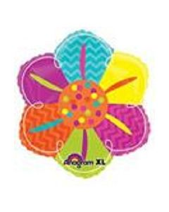 "anagram 18"" colourful flower balloon"