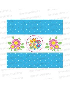 Flowers Chocolate Wrappers