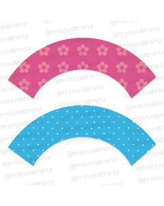 Flowers Cupcake Wrappers