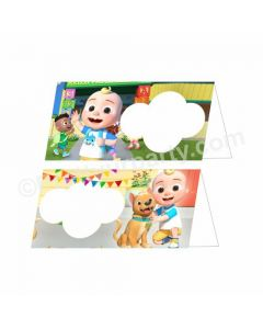 Cocomelon Theme Food Labels / Buffet Table Cards