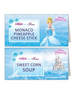 Disney Cinderella Food Labels