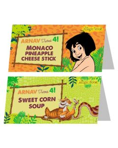 Jungle Book Food Labels