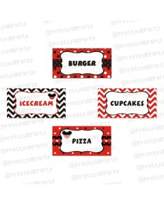 Mickey Mouse Inspired Food Labels