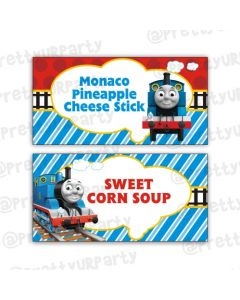 Thomas the Train Food Labels