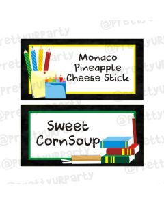 Back to School Food Labels