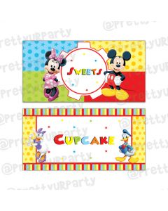 Mickey Mouse Clubhouse Inspired Food Labels