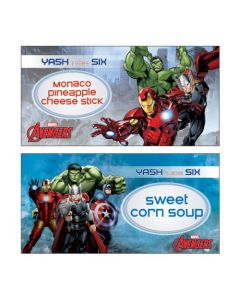 Avengers Food Labels