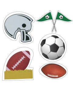Football Theme Cutouts
