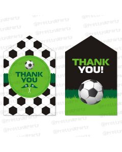 football theme thankyou cards