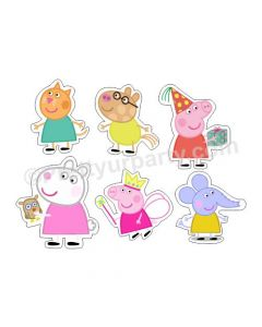 Peppa Pig Friends Cutouts