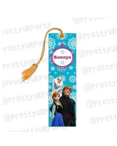 Frozen theme bookmark