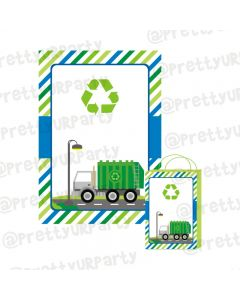 Garbage Truck Theme Khoi Bag