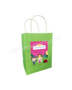 Ben and Holly's Little Kingdom Theme Gift Bags - Pack of 10