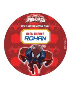 Spiderman Best Wishes card