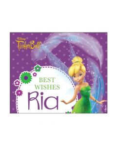 Tinkerbell Best Wishes card