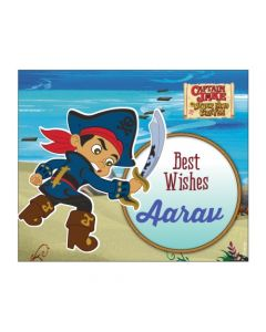 Captain Jake and the Neverland Best Wishes card