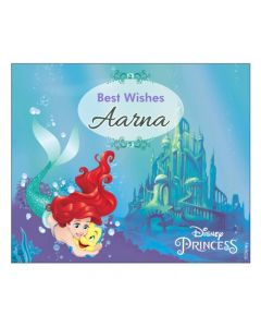 Ariel the Mermaid Best Wishes card