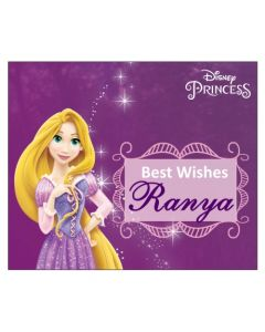 Tangled / Rapunzel Best Wishes card