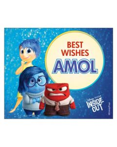 Inside Out Best Wishes card