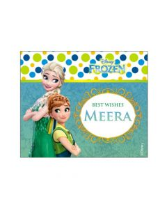 Frozen Fever Best Wishes card