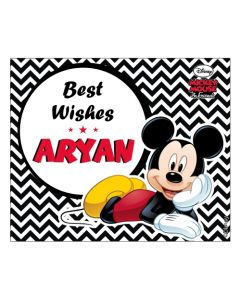 Mickey Mouse Best Wishes cards