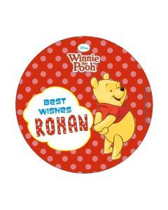Winnie the Pooh Best Wishes card