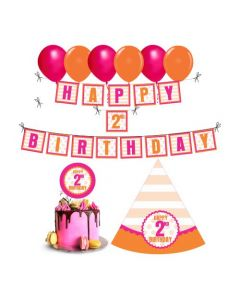 2nd Birthday Decorations for Girls