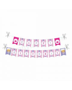 Little Chef Pink Theme Bunting