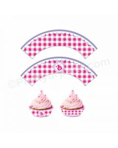 Little Chef Theme Cupcake Wrappers