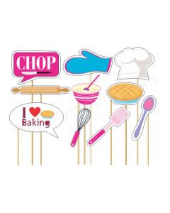 Little Chef Pink Photo Prop
