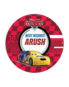 Disney Cars Best Wishes card