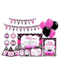 Glam Diva Party Decorations