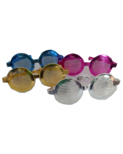 round shaped shutter giant goggles
