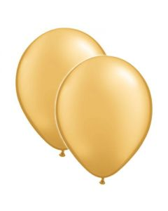 Gold Metallic Latex Balloon (pack of 50)