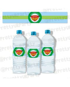 golf partee water bottle labels