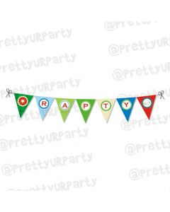 golf partee bunting