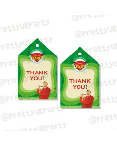 golf partee thankyou cards
